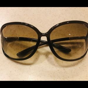 TOM FORD TF76 692 RAQUEL BROWN GRADIENT AUTHENTIC